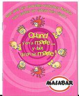 AJ14 - LIVRET PUBLICITAIRE MALABAR - QUAND Y'EN A MARRE... - Confiserie & Biscuits