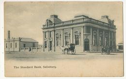 The Standard Bank Salisbury Banque - Zimbabwe