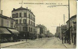 MONTREUIL-SOUS-BOIS -- La Rue De Paris -- - Montreuil