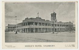 Meikle's Hotel Salisbury - Zimbabwe