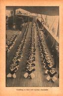 Turnuebung An Bord Eines Englischen Schulschiffes /Druck,entnommen Aus Zeitschrift /Datum Unbekannt - Books, Magazines, Comics