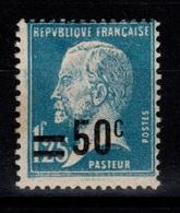 Pasteur YV 222 N* Forte Charnière Cote 3 Eur - France