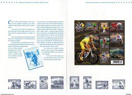""""""" 100ème TOUR DE FRANCE """" Sur Document Philatélique Officiel 1er Jour De 4 Pages De 2013. N° YT F4755 Parfait état ! - Ciclismo"""