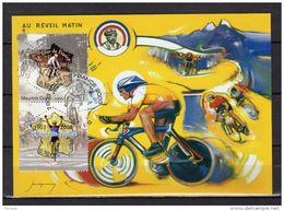 """FRANCE 2003 : Carte Maximum """" 100 ANS DU TOUR DE FRANCE """" N°YT 3582 3583. Parfait état. CM - Ciclismo"""