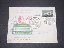 ALGÉRIE - Enveloppe FDC En 1956 , Camerone , Légion Etrangère - L 15392 - Algérie (1924-1962)