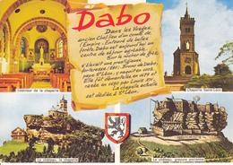 57 DABO / MULTIVUES / BLASON / TEXTE SUR PARCHEMIN - Dabo