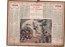 LOT 10 Calendriers  Almanach Des PTT   Voir Scans - Calendars