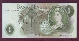 ROYAUME UNI  -  1 POUND Elisabeth II / J.B. Page - 1970-1977 - P.374g - 1 Pound