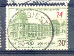 A217 Belgie Spoorwegen Met Stempel DIEST - Bahnwesen