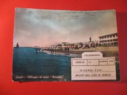 CARTOLINA  LIDO DI JESOLO  VILLAGGIO AL  MARE   D -  20 - Venezia