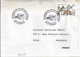 GARD  -  30  -  ST AMBROIX/XV° EXPO PHIL.GARDOISE  -  TàD De Type ILL -  2000 - Marcophilie (Lettres)