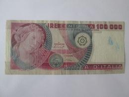 Italy 100000 Lire 1978 Banknote - [ 2] 1946-… : Républic