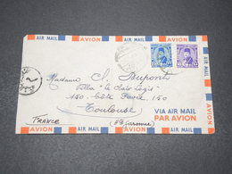 EGYPTE - Enveloppe Pour La France - L 15405 - Covers & Documents