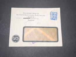 ESPAGNE - Censure De Madrid Sur Enveloppe Commerciale - L 15410 - Republikanische Zensur