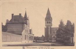 Camp De Beverloo, Camp Van Beverloo, Bourg Léopold, De Kerk En Het Post Kantoor (pk45229) - Leopoldsburg (Kamp Van Beverloo)