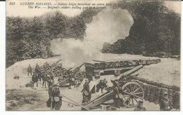 ARMEE BELGE 1914-1918 BELGISCHE ARTILLERIE - 1915 - Oorlog 1914-18