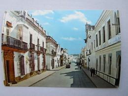 CP Espagne  CHICLANA DE LA FRONTERA - Rue Magistral Cabrera ( Andalousie - Cadix ) - Cádiz