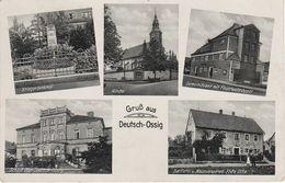 AK Deutsch Ossig A Görlitz Weinhübel Klein Neundorf Kunnerwitz Köslitz Kozlice Zgorzelec Hagenwerder Tauchritz Berzdorf - Gersdorf