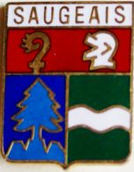 BB 424  ....BLASON......SAUGEAIS - Villes