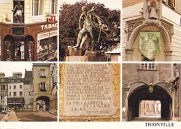 57 THIONVILLE /MULTIVUES /  STATUE DE VICTOR HUGO - Thionville