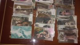 Lot De Plus De 220 Cpa Fantaisies Divers - Cartes Postales