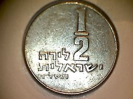 Israel 1/2 Lira 1978 - Israel