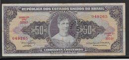 Brésil - 5 Centavos Sur 50 Cruzeiros - Pick N°184 - TB - Brésil