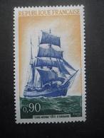 France N°1717 TROIS MATS COTE D'EMERAUDE Neuf ** - Ships