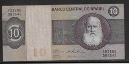 Brésil - 10 Cruzeiros - Pick N°193 - TTB - Brésil