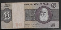 Brésil - 10 Cruzeiros - Pick N°193 - TTB - Brasil