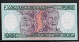 Brésil - 200 Cruzeiros - Pick N°199 - Neuf - Brésil