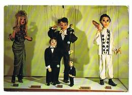 CPM..MARIONNETTES A FILS DE LOUIS VALDES..PARIS VERS 1960..MUSEE HISTORIQUE DE LYON - Marionnettes