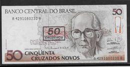 Brésil - 50 Cruzeiros - Pick N°223 - Neuf - Brésil