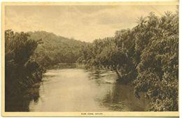 SRI LANKA - CEYLON - CARTOLINA  - SCENE DI FIUME - RIVER SCENE - NON VIAGGIATA - Sri Lanka (Ceylon)
