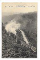 ARLANC  (cpa 63)   Ligne De La CHAISE-DIEU, Au Pont De Merle - Passage Du Train à Vapeur  - L 1 - France