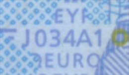 S ITALIA 20 EURO  J034 A1  DRAGHI  FIRST POSITION   UNC - EURO
