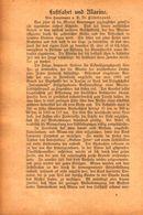 Luftfahrt Und Marine /Artikel,entnommen Aus Zeitschrift /Datum Unbekannt - Books, Magazines, Comics