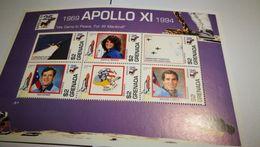 "Blocs ""Apollo XI"" + Espace+1994 - Space"