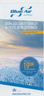 Romania - Timetable - Blue Air Smart Flying - Winter 2016-2017 - Europe