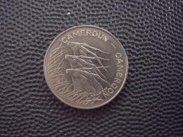 CAMEROUN  = UNE MONNAIE DE 100 FRANCS DE 1975 - Cameroon