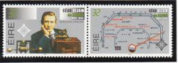 Ireland 1995 MNH Scott #973-#974 Pair Marconi, Radio Joint Germany, San Marino, Italy, Vatican - 1949-... République D'Irlande