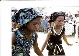 DANSE N'GALANE-BOUZA NIGER Superbe Cpsm 15X105 Animée Bon état Voir Scans - Niger