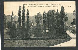 CPA - Vallée De Chevreuse - SENLISSE - Entrée Du Village Et Route De Cernay - Sonstige Gemeinden