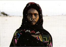 JEUNE FEMME TOUBOU NIGER Superbe Cpsm 15X105 Animée Bon état Voir Scans - Niger