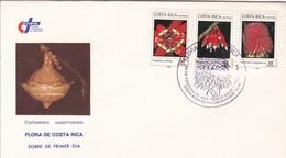 COSTA RICA. FDC. FLORA DE COSTA RICA, ESCHWEILERA COSTARRICENSIS.-TBE-BLEUP - Costa Rica