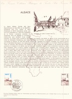 DOCUMENT OFFICIEL DU 26 FEVRIER 1977 STRASBOURG ALSACE - Documentos Del Correo