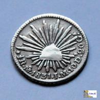 México - 1/2 Real - 1831 - Mexiko