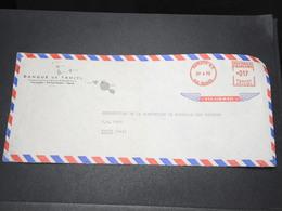 POLYNÉSIE - Enveloppe Commerciale De Papeete Pour Paris En 1970 , Affranchissement Mécanique - L 15462 - Polynésie Française
