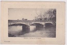 Pezens Le Pont Sur Le Fresquel Edit Loubet Voiture A Cheval Dessus 1904 - Autres Communes