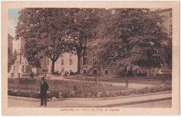 54. LUNEVILLE. Hôtel De Ville Et Square - Luneville